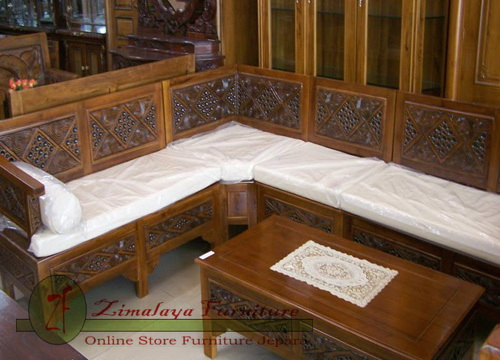 Kursi Tamu Sudut Minimalis Toraja