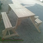 kursi meja taman