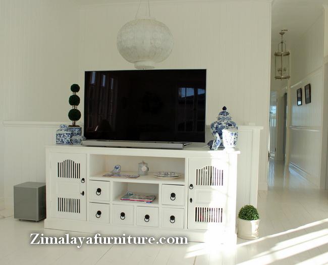 Buffet TV Putih