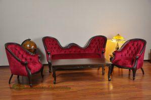 Kursi Tamu Sofa Merah