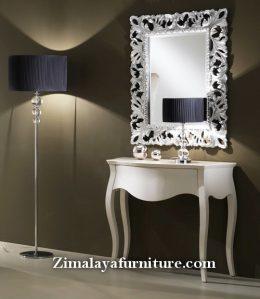 Meja Consul & Mirror