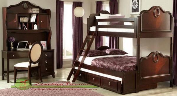 Set Tempat Tidur Anak Tingkat