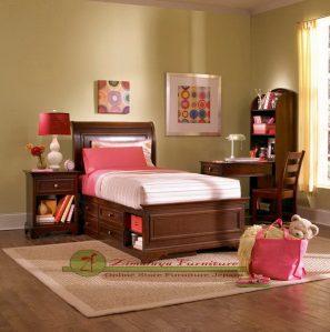 Set Tempat Tidur Anak Sorong