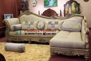 Kursi Sofa Sudut Mewah