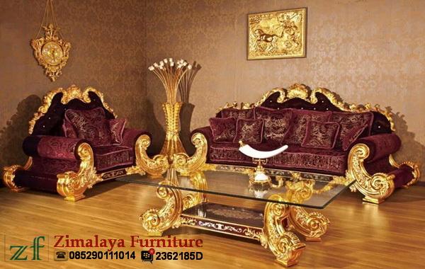Sofa Tamu Mewah Kolombo