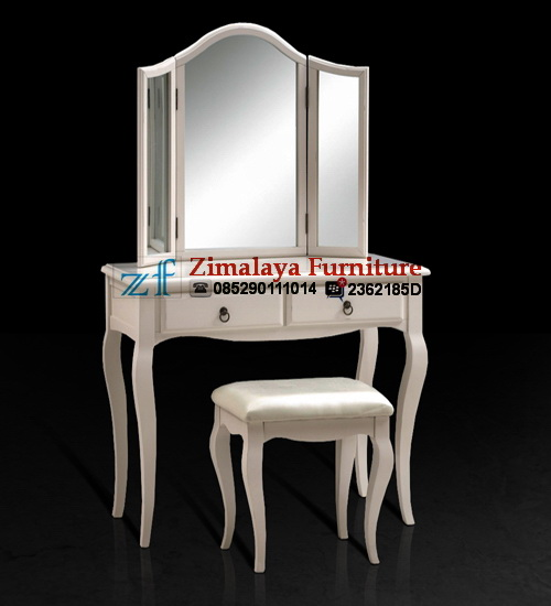 Meja Rias Putih Elegan