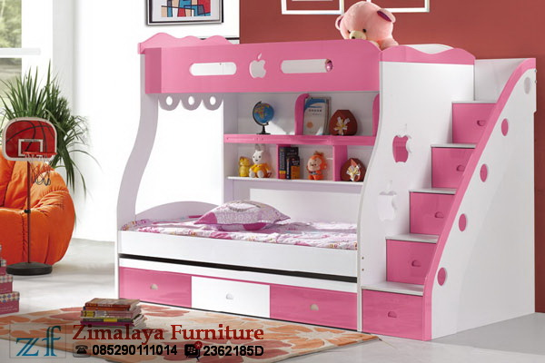 Ranjang Susun Warna Pink