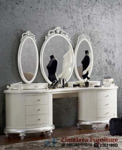 Meja Rias Putih Cantik