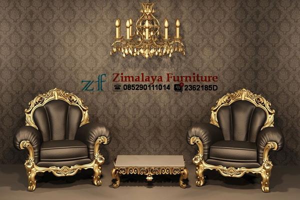 Kursi Sofa Emas