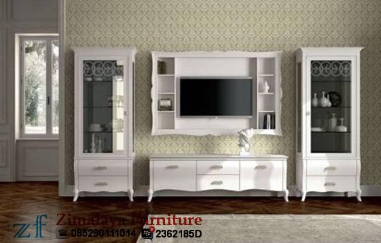 Set Buffet TV Putih