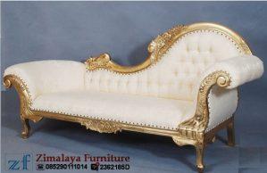 Sofa Lois Warna Emas