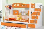 Tempat Tidur Anak Orange