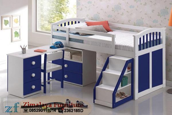 Tempat Tidur & Meja Belajar Anak