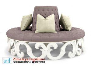 Sofa Bundar Mewah