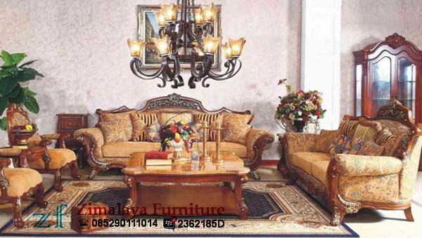 Sofa Tamu Jati Mewah