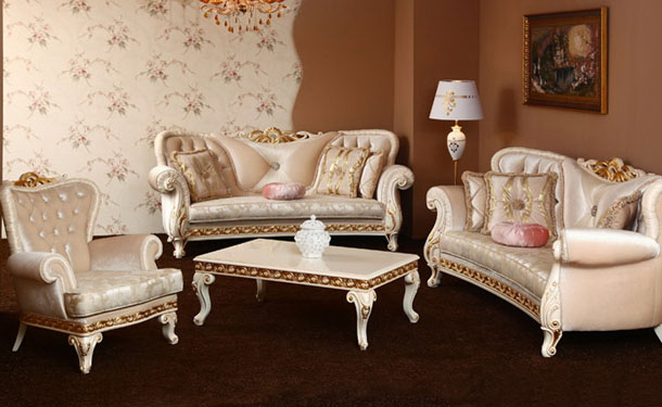 Set Sofa Tamu Mahony