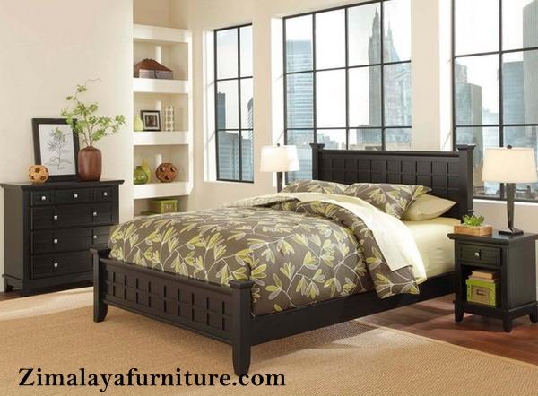 Set Tempat Tidur Minimalis Elegan