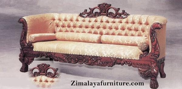 Sofa Ukir Klasik Jati