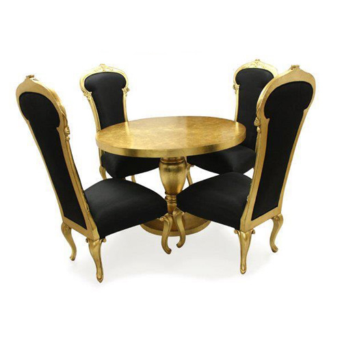 Kursi Makan Putri Emas
