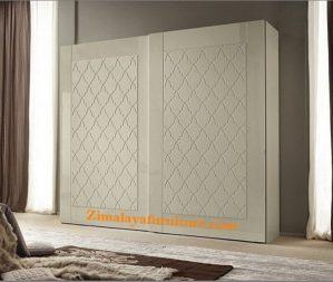 Lemari Minimalis Putih Pintu Sliding