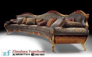 Sofa Santai Ukir Emas