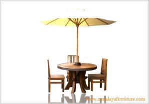Meja Payung Taman Antik