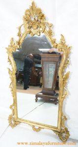 Mirror Ukir Emas