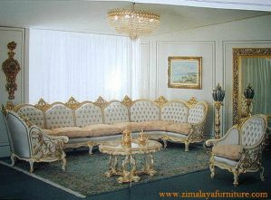 Sofa Tamu Lingkar Mewah
