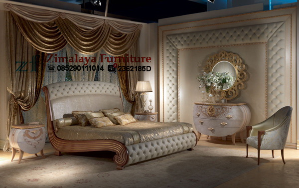 Tempat Tidur Cantik Vanity – Zimalaya Furniture