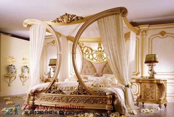 Tempat Tidur Kanopi Mewah