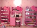 Set Meja Belajar Hello Kitty