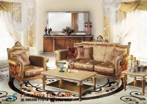 Sofa Tamu Mewah Klasik