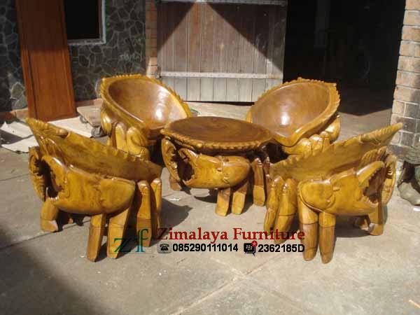 Kursi Kepiting Jepara