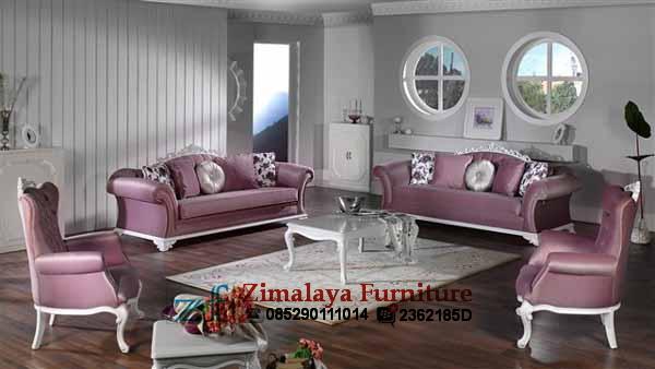 Sofa Tamu Warna Ungu