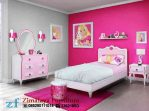 Tempat Tidur Anak Warna Pink
