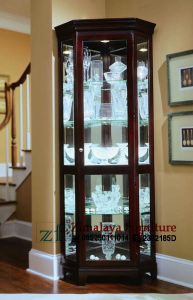 Lemari Sudut Minimalis Klasik Zimalaya Furniture