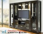 Lemari TV Kaca Minimalis
