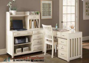 Meja Kerja Warna Putih