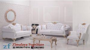 Kursi Tamu Mewah Warna Putih