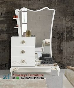 Meja Rias Putih Modern