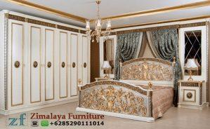 Set Tempat Tidur Ukir Emas