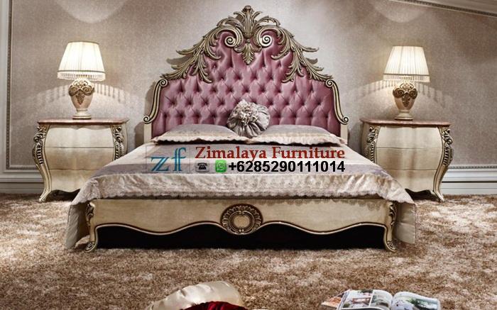 Tempat Tidur Ukir Klasik Mewah