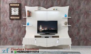 Bufet TV Modern Warna Putih