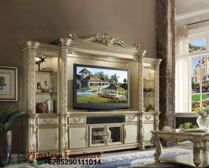 Lemari TV Klasik Mewah