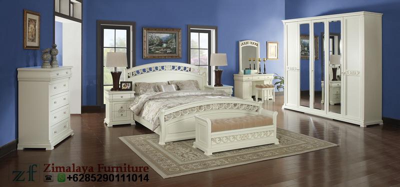 Set Kamar Tidur Warna Putih