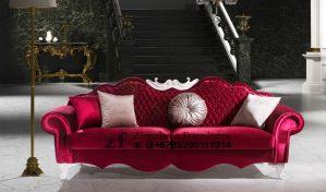 Sofa Santai Warna Merah
