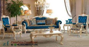 Sofa Tamu Mewah Ukir Klasik