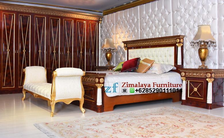 Tempat Tidur Mewah Kayu Jati