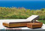 Kursi Pantai Kayu Jati