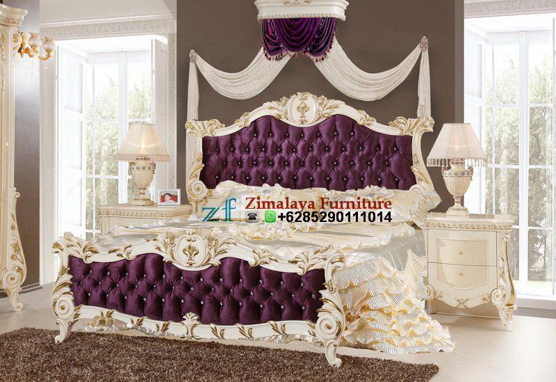 Set Tempat Tidur Model Ukir
